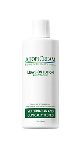 VetriMAX AtopiCream Leave-On Lotion for Pets Plus Detangling by VetriMAX