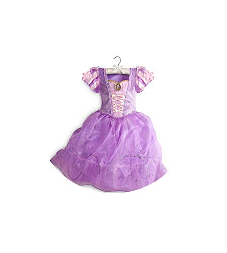 Girl Costume Cinderella Cosplay Party Dress Princess,As Picture4,4T]()