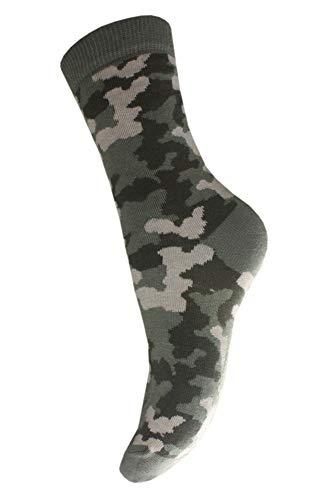 Weri Spezials Chaussettes pour Enfants, Couleur: Multicolore, Militaire 1