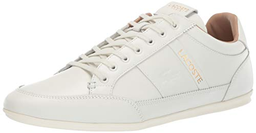 Lacoste Men's Chaymon Sneaker, off White, 11 Medium US ()