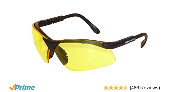 4bdca953d68 Amazon.com   Radians Revelation Protective Shooting Glasses (Amber Yellow  Lens Black Frame)   Hunting Safety Glasses   Sports   Outdoors