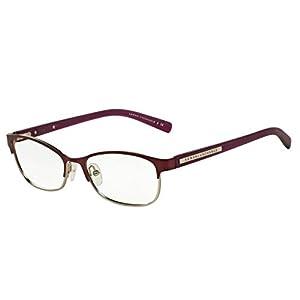 Armani Exchange AX 1010 Women's Eyeglasses Satin Berry Jam / Satin Silver 53