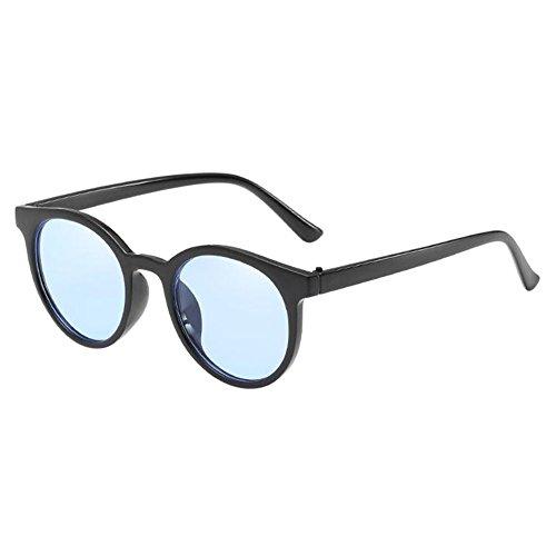 Petite soleil Protection UV Lunettes ronde Lunettes De Meijunter UV de Élégant Classique Polarisé Eyewear Bleu plein Rétro lunettes air Glasses protectrices Noir Anti Yfg8qxf5w