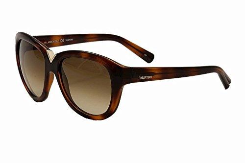 Valentino Sunglasses - V663S / Frame: Havana Lens: Brown Gradient
