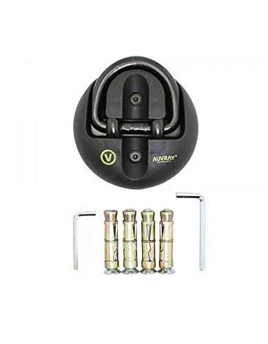 Livre avec KIT DE Montage AUVRAY ANTIVOL ANCRAGE SYSTEME 65x42 mm DIAM 14 mm
