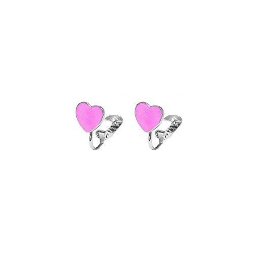 orecchini a clip per bambina
