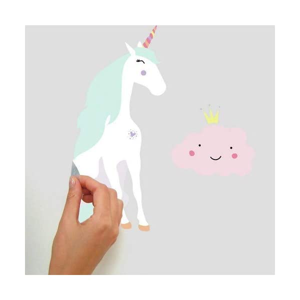 RoomMates Unicorn Magic Peel And Stick Wall Decals 5