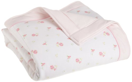 Little Me Baby-girls Newborn Belle Fleurs Blanket