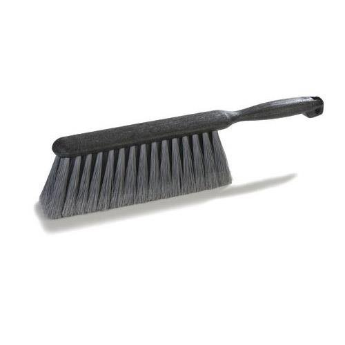 Carlisle Bench - Carlisle 3621123 Flo-Pac Counter/Bench Brush, Black Plastic Block and Handle, 2-1/2