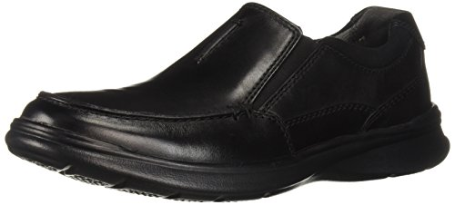 Clarks Men's Cotrell Free Loafer, Black Smooth Leather, 13 M - Dress Shoes Clarks