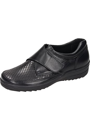Comfortabel Women's Loafer Flats Black sQpG1P