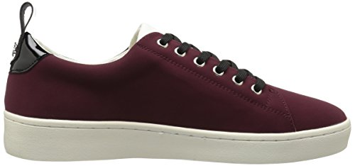 Fly London Kvinnor Maco833fly Gymnastiksko Bordeaux / Svart Nubuck / Patent