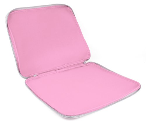 Pink 'Travel' Sleeve Case in Shock-Absorbing & Water-Resistant Neoprene for The Lenovo Miix 520 - by DURAGDGET by DURAGADGET (Image #4)