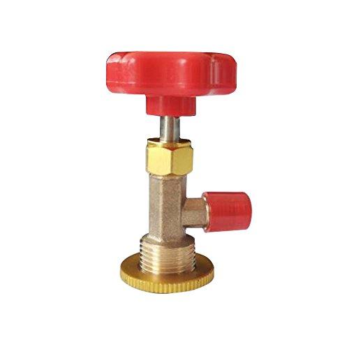 Red Plastic Cap (Wisepick Red Plastic Cap Threaded R134 Refrigerant Can Tap Valve Bottle Opener)