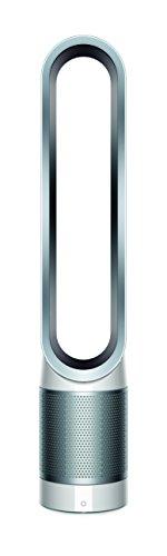 Dyson Pure Cool Link Turm-Luftreiniger (Speziell für Allergiker, HEPA Filter, Ventilatorfunktion, automatische Reinigung, App Steuerung, Sleep-Timer, Fernbedienung) weiß