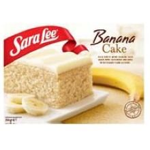Sara Lee Iced Banana Cake, 13.75 Ounce -- 12 per case.