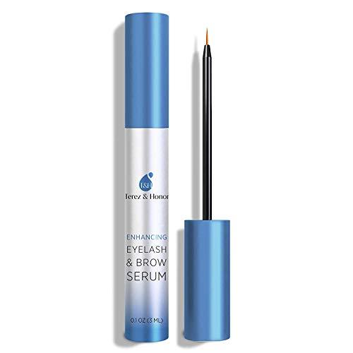Natural Eyelash Growth Enhancer and Brow Serum for Long, Luscious Lashes and Eyebrows
