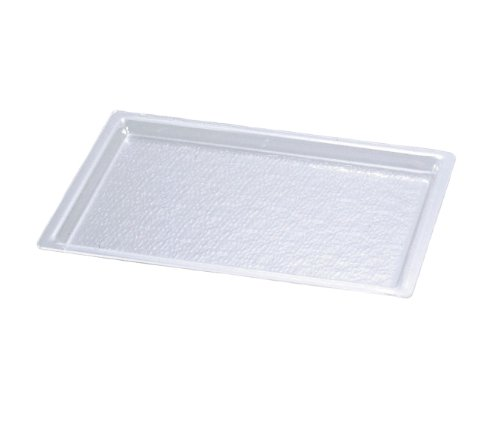 Cal-Mil 325-18-12 Trays, 26'' Length x 18'' Width, Clear (Pack of 4) by Cal Mil