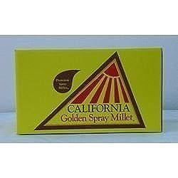 California Golden Spray Millet for Birds - Premium Spray Millet
