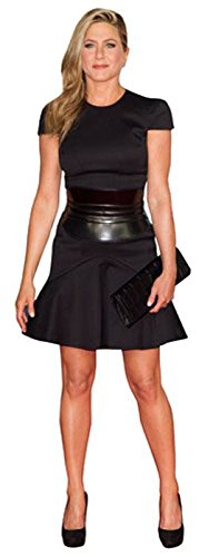 Jennifer Aniston (Black Dress) Mini Cutout