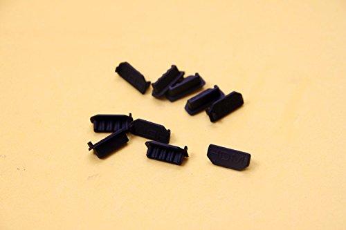 Melleco 50pcs Computer TV HDMI Female Port Plug Connector Dustproof Anti Dust Cover Cap Protector
