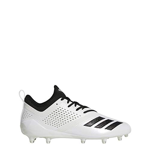 adidas Adizero 5Star 7.0 Cleat Mens Football 11 White-Black