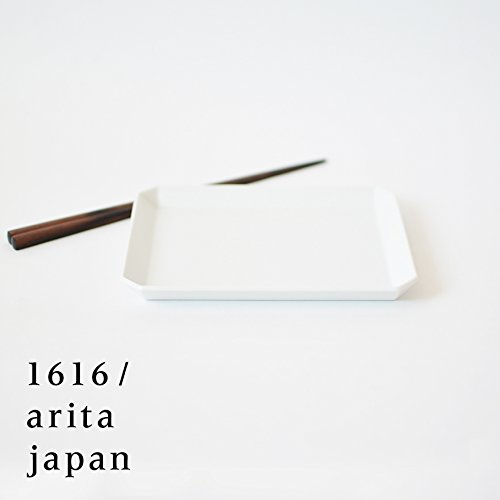 【아리타산 도자기/자기】arita japan TY SquarePlate165White TY스퀘어 플레이트165 화이트
