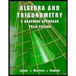 Algebra and Trigonometry, Ron Larson and Robert P. Hostetler, 0618052879
