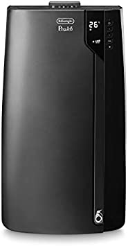 De'Longhi Pingüino EX130 Silent Aire Acondicionado Portátil, 12500 Btu/h, 3.3 kW, Eco Real Feel para Mayor Comodidad y Ahorro, Ventilador y Deshumidificador, Temporizador, Mando a Distancia