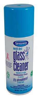 Sprayway Sw60824r Glass Cleaner, 4 Oz (Pack of 24)