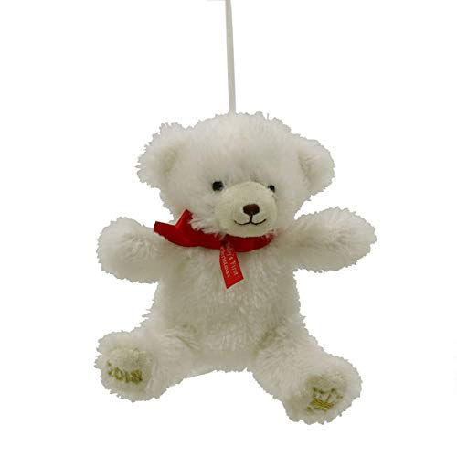 Hallmark Baby's First Christmas 2018 Owen Stuffed Bear Ornament ()
