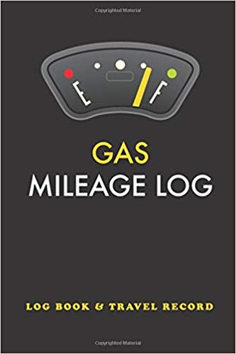 ad43229009bf Amazon.com: Gas Mileage Log: Tracker Logbook Notebook Journal Record ...