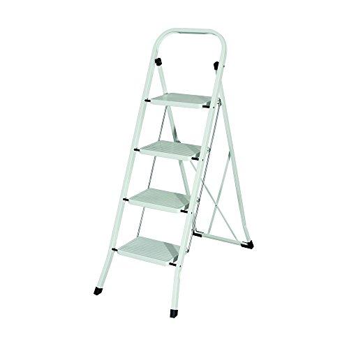 MAURER 23010104 Escalerilla Acero 4 Peldanos Uso Domestico