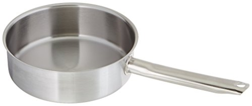 Excellence Pans - Matfer Bourgeat Excellence Saute Pan without Lid, 7 7/8-Inch, Gray