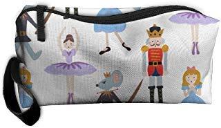 Nutcracker Ballet Gifts (SO27SBAG Portable Durable Waterproof Travel Bag Nutcracker Ballet Home Makeup Toiletry Cosmetic Pencil Medicine)
