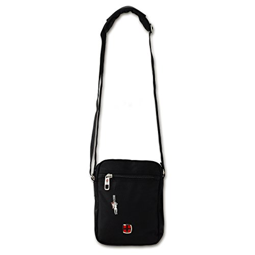para Bolso Negro Mujer Dernier Bag Negro Messenger Cruzados FwIOgq