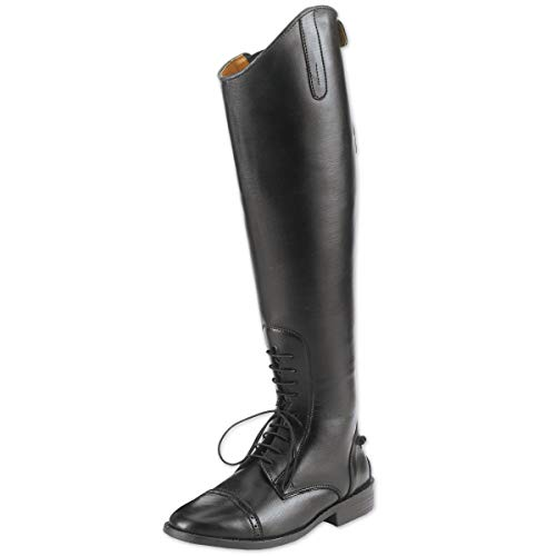 Equistar Childs All-Weather Synthetic Field Riding Boots, Black, 4