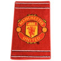 Official Manchester United Floor Rug by Club Rugs