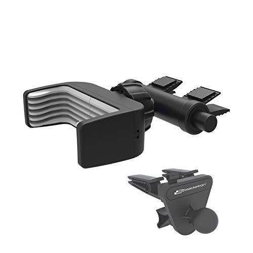 Bracketron Mi-T Grip CD Slot Vent Car Mount Phone Holder Cradle Hands Free Law Compatible iPhone X Max R 8 Plus 7 Se 6S 6 5S Samsung Galaxy S9 S8 S7 S6 Note Google Pixel 2 XL LG Nexus Nokia BT1-946-2