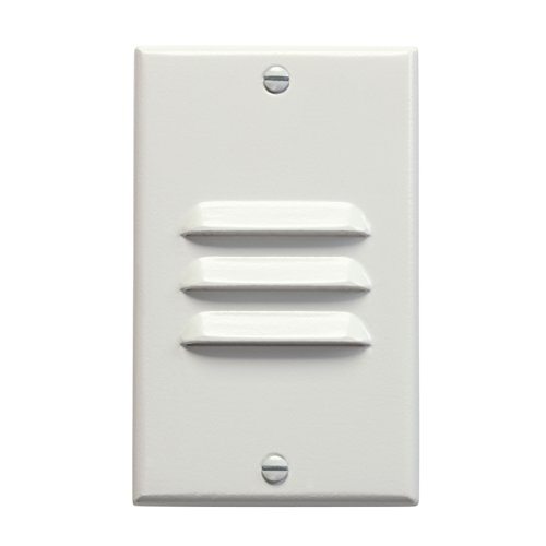 12656WH Design Pro LED 120V Vertical Louver Step & Hall Light, White Finish