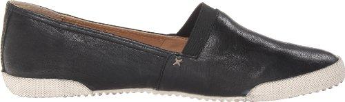 Damas Frye Deslizamiento En Los Zapatos Melanie Baja Noir (negro) Envío gratis barato real bj114vqr