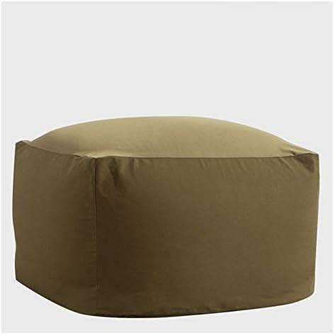 - マシンウォッシャブルカバー、ダブルステッチシーム、耐久性に優れたインナーライナー巨人-Filled家具:複数のサイズと色でビーンバッグチェア。 (Color : Yellow Green, Size : 65x65x43cm)