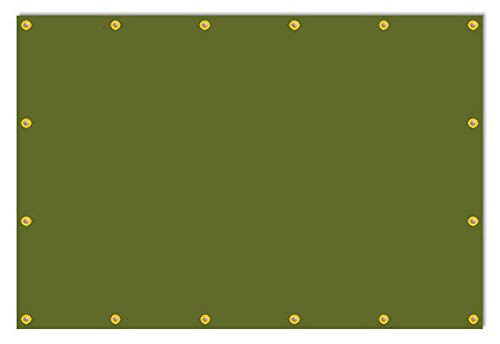 6 x 9 Cordura Tarp Canopy, USA Made, Tough Nylon, 7 -