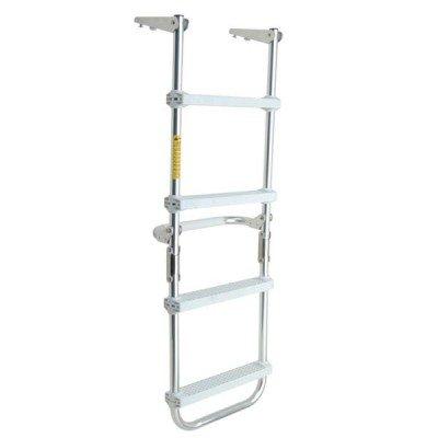 AMRG12150 * Garelick Folding Pontoon Deck Ladder