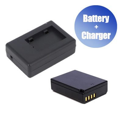 Battpit™ Battpit™ New Digital Camera Battery + Charger Replacement for Canon EOS Rebel T3 (1500 mAh) (Ship from Canada) Battpit™ 69605327019914