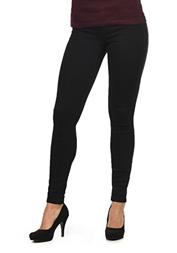 Jacqueline de Yong by Only Feli Jean Pantalon Denim Femme Extensible Coupe Skinny Black