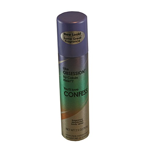 Fragrance Imposters (Parfums De Coeur Confess Fragrance Deodorant Body Spray 2.5 Fl Oz)