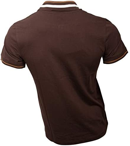 FC St. Pauli – Polo Camiseta Logo Escudo del Color Marrón Oscuro ...
