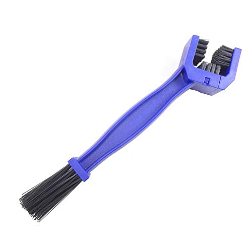 lujiaoshout Bicycle Chain Cleaning Brush Cycling Chain Cleaner Gear Brush Scrubber Brush Bike Maintenance Tool