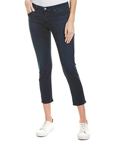 Ag Jeans Womens The Stilt Crop Cigarette Crop, 31, Black